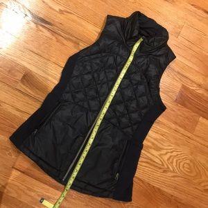 Lululemon quilted vest size 6 navy blue